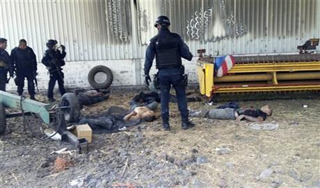 43 doden tijdens vuurgevecht Mexicaanse drugsbendes