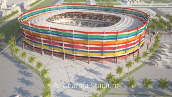 Quatar sluit pottekijkers bouw stadions op in gevangenis