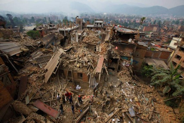 Oxfam Novib bereikt afgelegen dorpen in Nepal in race tegen de moesson
