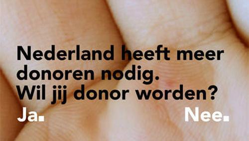 Orgaandonatie campagne kostte 20 miljoen en leverde niets op
