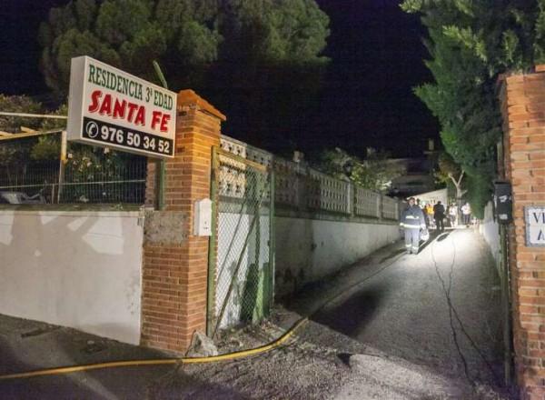 Ouderen dood bij brand Spaans verzorgingshuis