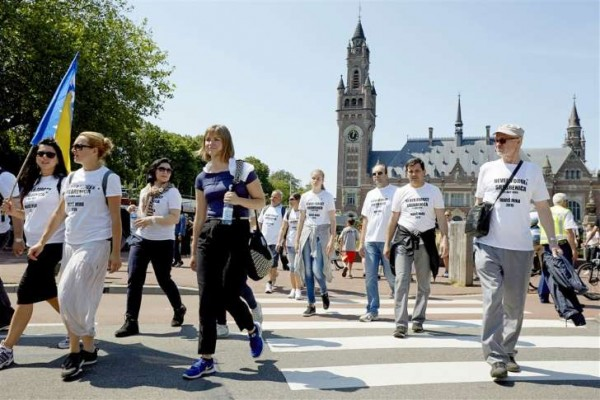 Weinig belangstelling Srebrenica-herdenking Den Haag