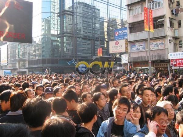 """""""Groot-Brittannië overwoog om bevolking Hongkong in Noord-Ierland onder te brengen"""""""