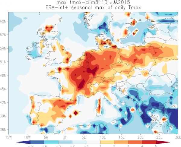 Vaker hittegolf door klimaatverandering