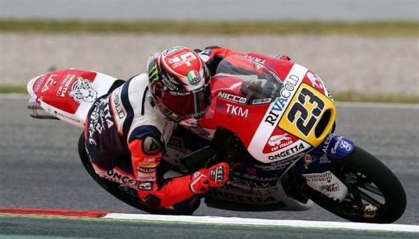 Antonelli wint dramatische Moto3 GP
