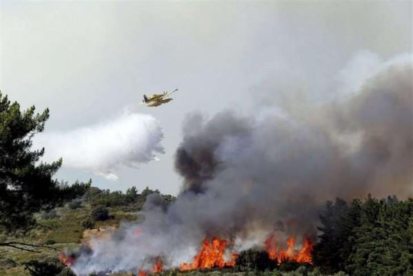 Bosbrand van ruim 5000 hectare in Spanje