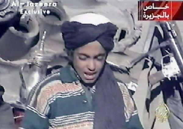 Zoon Bin Laden roept op tot aanslagen