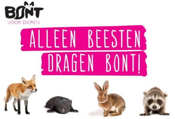 Grote meerderheid Nederlandse bevolking tegen bont