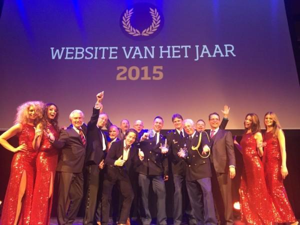 Website politie verkozen tot website van het jaar.