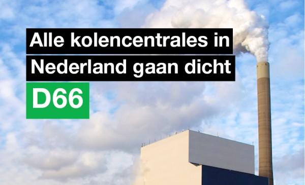 Tweede Kamer wil sluiting kolencentrales.