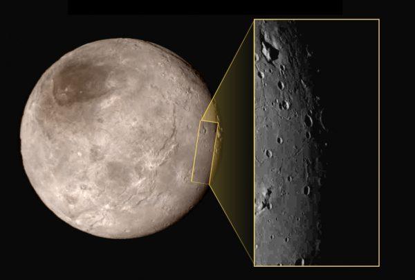Mogelijk ondergrondse oceaan op maan Pluto