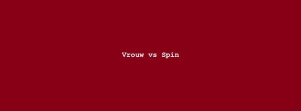 Column Nadine Swagerman – Vrouw vs Spin