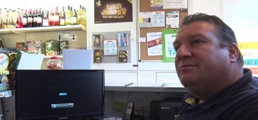 Overval avondwinkel Beverwijk, videobeelden