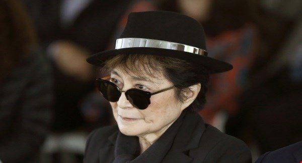 Yoko Ono na kort verblijf weer uit het ziekenhuis