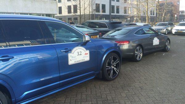 Zelfrijdende auto's rijden van Amsterdam naar Beesd en terug