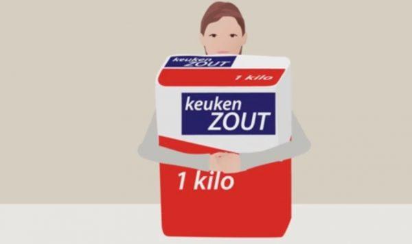 3 gram minder zout per dag scheelt 1500 sterfgevallen