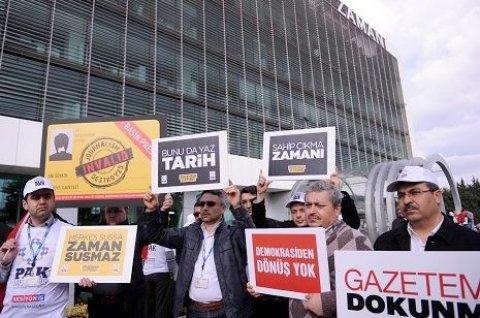 Zaman Nederland getroffen door Turkse overname Zaman