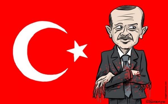 Turken vluchten naar Nederland