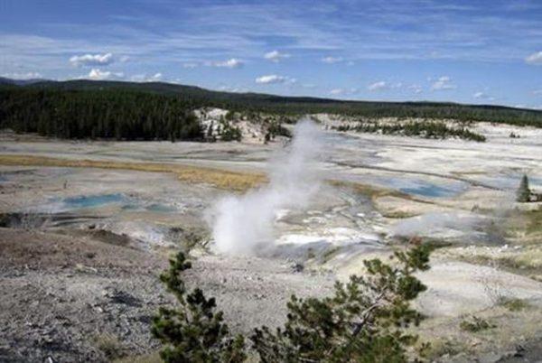 Horror: Man verdrinkt in kokendhete bron Yellowstone National Park