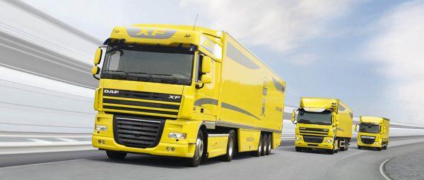 750 miljoen euro boete voor DAF Trucks wegens kartelvorming