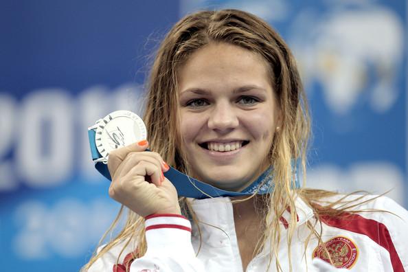 Russische zwemster Efimova toch in actie