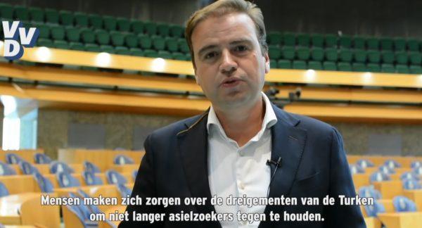 VVD: 'we laten ons niet chanteren'