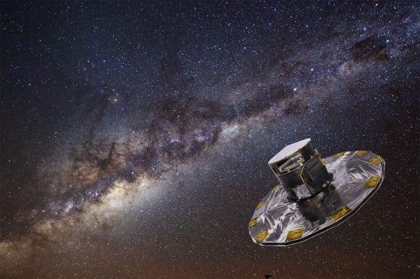 GAIA satelliet brengt miljard sterren in kaart