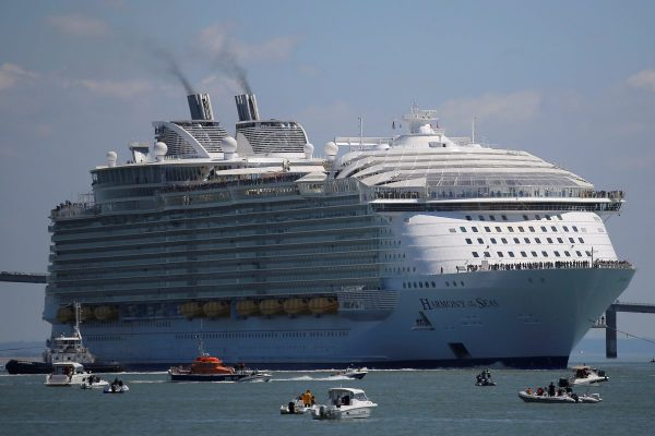 Doden cruiseschip door menselijk falen