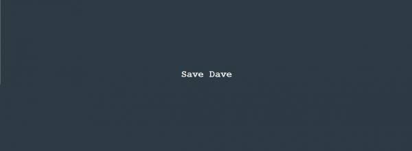 Column Nadine Swagerman – Save Dave