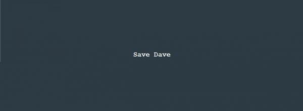 Column Nadine Swagerman – Save Dave
