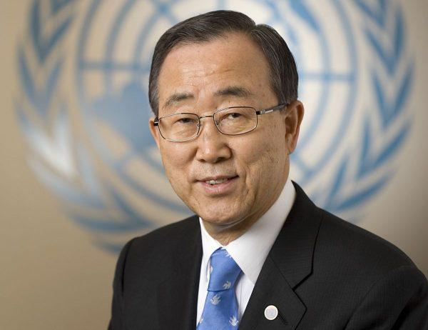 Ban Ki-Moon: 'het zijn de VN-lidstaten die de oorlog draaiende houden in Syrië'
