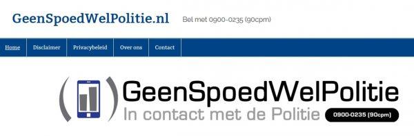Waarschuwing: Oplichterswebsite doet zich voor als politiewebsite