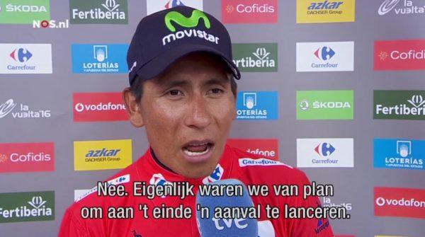 Quintana tekent voor nog eens 2 seizoenen bij Movistar