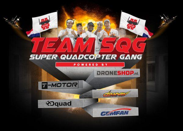 Drone-race Team SQG heeft primeur met sponsordeal