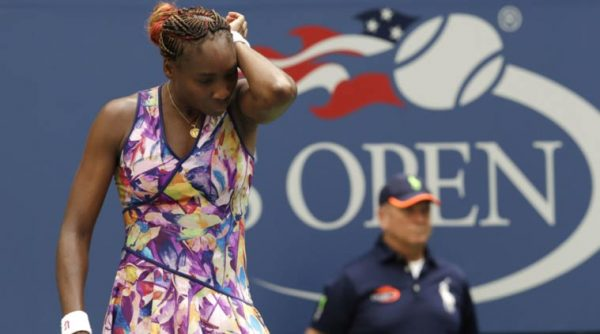 Venus Williams uit US Open